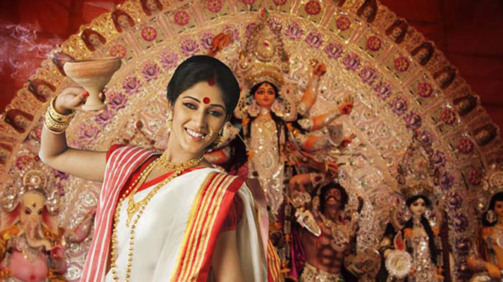 Durga-Puja in Housing Complexes in Kolkata