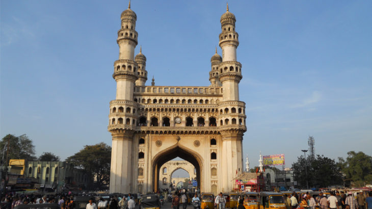 Charminar - best among heritage places in hyderabad