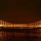 The majestic Howrah Bridge at night