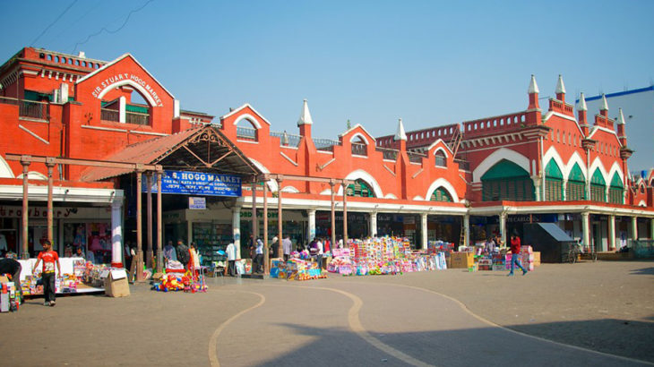 new market at kolkata