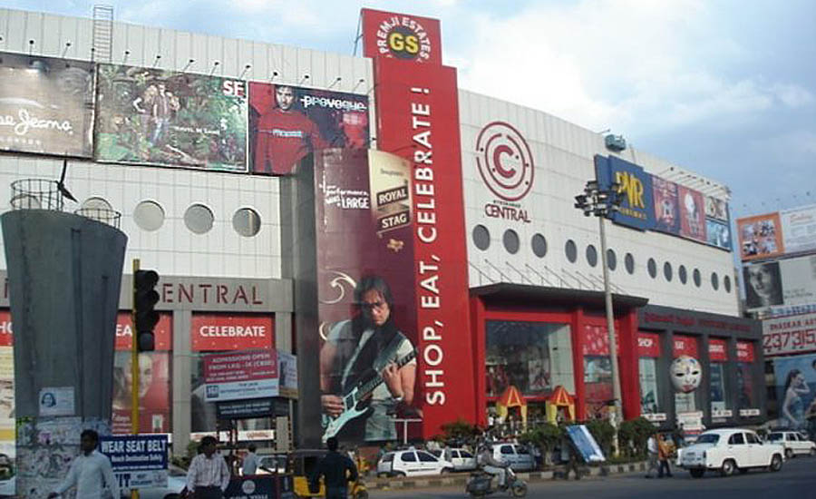 shopping in hyderabad central