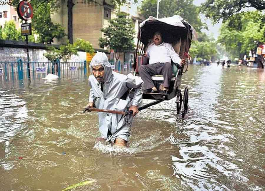 natural disaster in kolkata
