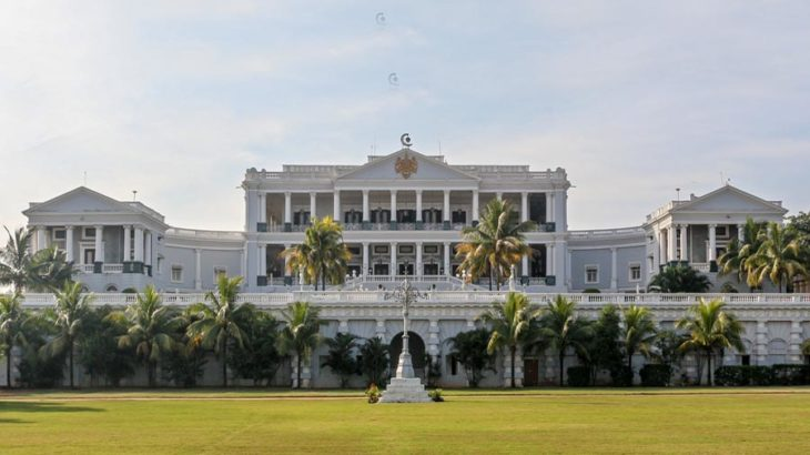 falaknuma palace hyderabad architecture