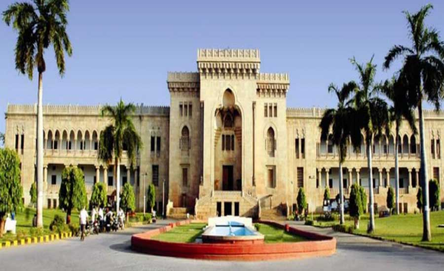 osmania university hyderabad architecture