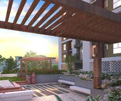 Chitrakut Heights Podium view