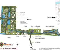 Shriram Grand City Master Layout Plan