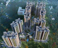 Siddha Happy VilleAerial view
