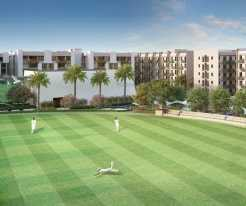 Swayam City Cricket ground view